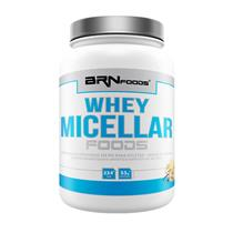 5515a3548 Whey Protein Isolado - WHEY MICELLAR FOODS - 900 g - Sabor Baunilha - Br  Nutrition Foods